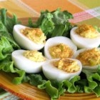 Simply Good Eggs - A simple deviled egg recipe is always good to have on hand when you host a party.