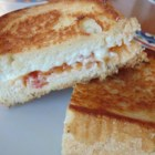 Grilled Goat Cheese and Mango Chutney Sandwich - Everyone loves grilled cheese sandwiches.