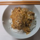 Quick Sardine Curry - Here's a quick stir-fry with canned sardines in a simple coconut curry sauce. Try it!