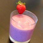 Purple Power Punch Smoothie (My Kids' Fave) - This kid-pleasing power smoothie made with strawberries, blueberries, blackberries, and raspberries is sure to become your go-to smoothie of choice.