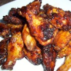 Baked Maple and Chipotle Wings - Chicken wings heat up with plenty of chipotle chili powder and are finished with a maple syrup glaze.