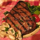 Beer and Brown Sugar Steak Marinade - I concocted this marinade on a lark and it turned out great. The flavors complement and do not overwhelm the natural taste of beef.