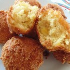 Quick and Easy Hush Puppies - These quick and easy hush puppies use corn muffin mix and are nicely spiced with garlic and onion powder.