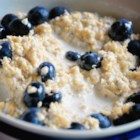 Steel Cut Oats with Blueberries and Lemon Zest - Steel cut oats with blueberries and lemon zest is an easy to make recipe that's delicious, quick, easy, and vegan-friendly.