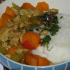 Ground Chicken Stew - This stew made with ground chicken and plenty of vegetables is sure to provide a terrific bowl of comforting warmness at dinner time.