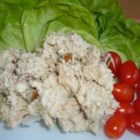 Fancy Chicken Salad - I came up with this as I was trying to use things I had on hand. I have fresh dill growing on my deck, which was the chief inspiration for this upscale version of chicken salad. (I had some for dinner--delicious!)