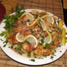Chicken Piccata I - Lemon perks up this chicken in wine sauce, an easy company favorite.