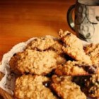 No Butter Choco-Chip Cookies - These have a lot of oats in them too. This is such a hit in my family. My 16-month old even loves them. I use applesauce instead of butter and cut down on the sugar. You can replace the butterscotch chips with additional chocolate chips if you prefer.