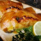 Easy Bake Fish - A simple blend of mustard, honey, and lemon juice transforms salmon steaks into a fabulous feast!