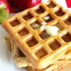 Jim's Apple Waffles - These apple cinnamon waffles will fill your kitchen with wonderful smells as they cook!