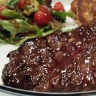 Stout Skirt Steak - Skirt steak marinated in Guinness stout beer, hot sauce, and brown sugar produces a slightly sweet and mouth-wateringly juicy steak everyone will love!