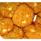 Sue's Oatmeal Macadamia Nut Cookies - This is an old family recipe that I 'tweaked' by adding macadamia nuts.  I bake about 1,000 of these every year for our St Joseph Garden Tour and I don't even have any crumbs left.