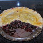 Blackberry Pie IV - An easy and yummy blackberry pie that is thickened with tapioca.