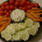 Zucchini Chive Dip - Zesty and creamy, a great dip recipe to make! Fragrant chives add a kick to the flavor of zucchini that you'll find irresistible. Serve with vegetables or chips.