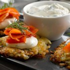 Herbed Potato Rosti - This dish, similar to hash browns, is a traditional Swiss dish made as an appetizer for breakfast or as a side dish with dinner.