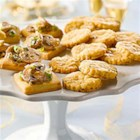 Jalapeno Cheese Shortbread - Flaky appetizers with a jalapeno zing; ideal with wine and best served the day they are made.