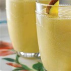 Mega Mango Smoothie - Healthy meets high energy in a refreshing mango, orange, banana, and cottage cheese smoothie.