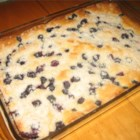 Blueberry Boy Bait - A delightful light cake topped with blueberries and streusel. Similar to a blueberry buckle yet has its own unique twist. Recipe dates back to the 1920's.