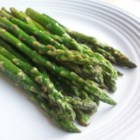 Pan-Fried Asparagus - This garlic asparagus dish is a Northern Italian side dish.  My family loves it!  Even the kids!