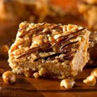RICE KRISPIES(R) Peanut Butter Bars - Your kids will love drizzling chocolate over these bars to make a swirly, whirly, squiggly pattern.