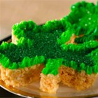 Lucky Shamrock Treats(TM) - Bring a little luck to any St. Patrick's Day celebration with these green, shamrock-shaped goodies.