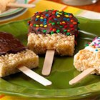 RICE KRISPIES(R) Dipper Treats(TM) - Popping Rice Krispies Treats(TM) onto ice-cream sticks makes any summer day a little cooler.