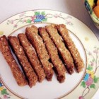 Ginger Biscotti with Pistachios - Try substituting macadamia nuts for pistachios.