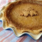 Maple Syrup Pie - Maple syrup pie, made with maple syrup, brown sugar, and condensed milk, is a sweet and decadent dessert for any time of the year.