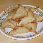 Cream Cheese Won Tons - This is the only way I will eat cream cheese. I thought I would try it, because I love won tons and the kids love cream cheese.  Try it, it's onolicious! I usually use a little bit of beaten egg to seal the won ton skins into their package shape.