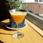 Autumn Sunshine Cocktail - Enjoy this autumn sunshine cocktail, made with maple syrup, Grand Marnier(R), and bourbon, any time of year.