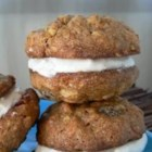Carrot Cake Cookies - Cream cheese frosting tops these carrot cake cookies in this addictive dessert.
