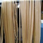 Eggless Pasta - If you have ever wanted to make your own fresh pasta, this easy recipe shows how semolina flour, salt and water are kneaded into a simple dough, then rolled and cut into shapes. Durum semolina flour may be found at specialty grocers.