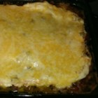 Mexican Beef and Corn Casserole from Country Crock(R) - Black beans and corn, cooked ground beef, salsa and sour cream are layered in a baking dish, topped with shredded cheese, and baked for a zesty one-dish meal.