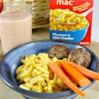Horizon Mac & Cheese - Steamed broccoli florets add color and flavor to kid-pleasing mac and cheese.