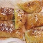 Fried Apple Pies - This recipe will give you 6 to 8 easy-to-make little fried pies that burst with apple goodness. Sprinkle with confectioners' sugar, if desired.