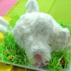 Easter Bunny 'Butt' Cake - Celebrate Easter with this festive and fun Easter Bunny 'butt' cake that your whole family will love.