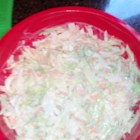 Creamy German Coleslaw - Six simple ingredients are all it takes to whip up German-inspired coleslaw. Serve at your next potluck or picnic.