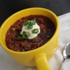 Chili (AKA Heaven) - A hearty chili takes very little preparation, simmers on the stove, and is perfect for game days or cold weeknights.