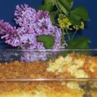Old-Fashioned Scalloped Corn - Delicious country-style creamed corn casserole, a family favorite!
