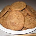 Giant Spice Cookies - This is a new twist on an old classic. Spice cookies made using a box of cake mix.