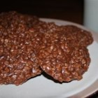 No Bake Cookies V - An easy cookie for kids to make. Cocoa, peanut butter, and oatmeal make a chewy delicious cookie with some nutritional value.