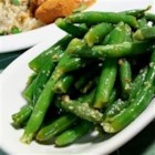 Spicy Indian (Gujarati) Green Beans - A spicy green bean side dish!
