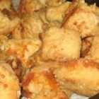 The Best Ever Chicken Nuggets - These chicken nuggets are coated in a mixture of flour, garlic salt, and black pepper and then fried in oil.