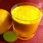 Orange Zinger - This orange, carrot, and ginger juice is packed with freshness and other good things, and comes with a delightful zing courtesy of the ginger.