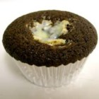 Chocolate Surprise Cupcakes - Rich chocolate cupcakes with cream cheese and chocolate chip center. Also known as Black Bottom Cupcakes.