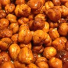 Crunchy Spiced Chickpeas - Dried chickpeas are soaked for a full 24 hours before they're tossed with olive oil and spices and baked until crispy--an easy and addicting snack!