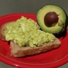 Avocado Egg Salad - I made this recipe up when I had an abundance of avocados and wanted something other than guacamole. I shocked myself at how tasty this egg salad was and my honey loved it too!