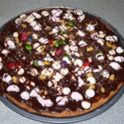 Chocolate Cookie Pizza - A favorite with children of all ages. Use your imagination with the toppings!