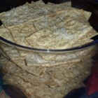 Crispy Whole Wheat Lavash Chips - Lavash flat bread easily bakes into chips that pair well with any dip, hot or cold.