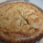 Easy Vegetable Pot Pie - Pull what you need from the freezer or pantry from this one. Frozen pie crust, a can of cream of potato soup, and a mega can of mixed veggies. An egg, some milk and a dash of thyme, and you have the fixings for a wonderful pie that your family will think